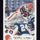 1999 Fleer Focus Football #043 Terry Kirby - Cleveland Browns