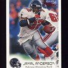 1999 Fleer Focus Football #034 Jamal Anderson - Atlanta Falcons