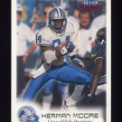 1999 Fleer Focus Football #025 Herman Moore - Detroit Lions