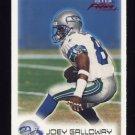 1999 Fleer Focus Football #011 Joey Galloway - Seattle Seahawks
