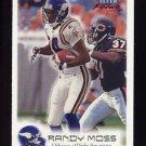1999 Fleer Focus Football #001 Randy Moss - Minnesota Vikings