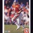 1992 Fleer Football #094 John Elway - Denver Broncos