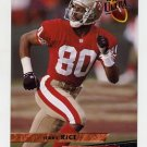 1993 Ultra Football #437 Jerry Rice - San Francisco 49ers