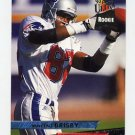 1993 Ultra Football #284 Vincent Brisby RC - New England Patriots
