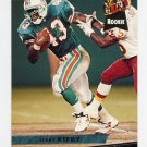 1993 Ultra Football #257 Terry Kirby RC - Miami Dolphins