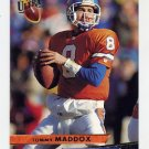 1993 Ultra Football #114 Tommy Maddox - Denver Broncos