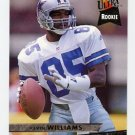 1993 Ultra Football #105 Kevin Williams RC - Dallas Cowboys