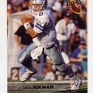 1993 Ultra Football #085 Troy Aikman - Dallas Cowboys