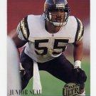 1994 Ultra Football #272 Junior Seau - San Diego Chargers Ex