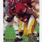 1994 Ultra Football #203 Willie McGinest RC - New England Patriots