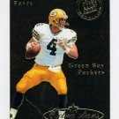 1995 Ultra Football Gold Medallion #490 Brett Favre - Green Bay Packers NM-M
