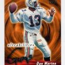 1995 Ultra Football Ultrabilities #01 Dan Marino - Miami Dolphins