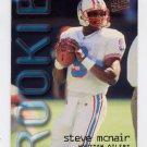 1995 Ultra Football #435 Steve McNair - Houston Oilers