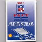1995 FACT Fleer Shell Football Sealed Complete Set 1 Card #1-18 / Brett Favre / Troy Aikman