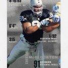 1995 FACT Fleer Shell Football #103 Chester McGlockton - Oakland Raiders