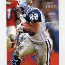 1995 FACT Fleer Shell Football #100 Emmitt Smith - Dallas Cowboys NM-M