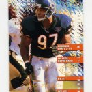 1995 FACT Fleer Shell Football #098 Chris Zorich - Chicago Bears