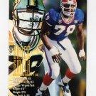 1995 FACT Fleer Shell Football #097 Bruce Smith - Buffalo Bills