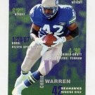 1995 FACT Fleer Shell Football #094 Chris Warren - Seattle Seahawks