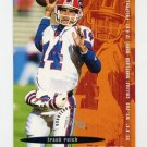 1995 FACT Fleer Shell Football #068 Frank Reich - Carolina Panthers