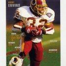 1995 FACT Fleer Shell Football #064 Ricky Ervins - Washington Redskins