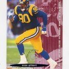 1995 FACT Fleer Shell Football #059 Sean Gilbert - St. Louis Rams NM-M