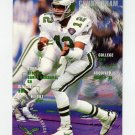 1995 FACT Fleer Shell Football #057 Randall Cunningham - Philadelphia Eagles NM-M
