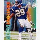 1995 FACT Fleer Shell Football #047 Darren Carrington - Jacksonville Jaguars