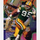 1995 FACT Fleer Shell Football #035 Bryce Paup - Buffalo Bills
