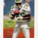 1995 FACT Fleer Shell Football #025 Fred Barnett - Philadelphia Eagles NM-M