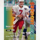1995 FACT Fleer Shell Football #015 Steve Beuerlein - Jacksonville Jaguars ExMt
