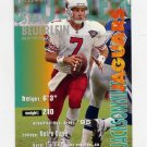 1995 FACT Fleer Shell Football #015 Steve Beuerlein - Jacksonville Jaguars NM-M