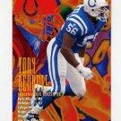 1995 FACT Fleer Shell Football #014 Tony Bennett - Indianapolis Colts