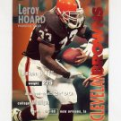 1995 FACT Fleer Shell Football #008 Leroy Hoard - Cleveland Browns ExMt