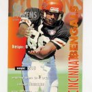 1995 FACT Fleer Shell Football #007 Carl Pickens - Cincinnati Bengals ExMt