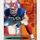 1995 FACT Fleer Shell Football #005 Pete Metzelaars - Buffalo Bills NM-M