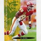 1995 FACT Fleer Shell Football #003 J.J. Birden - Atlanta Falcons