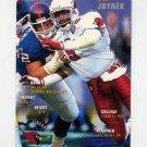 1995 FACT Fleer Shell Football #002 Seth Joyner - Arizona Cardinals NM-M