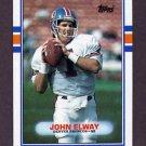 1989 Topps Football #241 John Elway - Denver Broncos