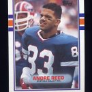 1989 Topps Football #052 Andre Reed - Buffalo Bills