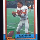1990 Topps Football #405 Mark Carrier - Tampa Bay Buccaneers