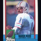 1990 Topps Football #216 Warren Moon - Houston Oilers
