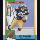 1990 Topps Football #179 Rod Woodson - Pittsburgh Steelers