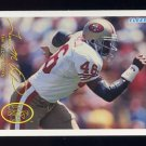 1994 FACT Fleer Shell Football #86 Tim McDonald - San Francisco 49ers