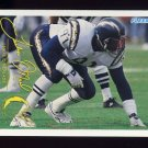 1994 FACT Fleer Shell Football #85 Leslie O'Neal - San Diego Chargers