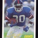 1994 FACT Fleer Shell Football #81 Dave Meggett - New York Giants