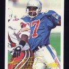 1994 FACT Fleer Shell Football #79 Maurice Hurst - New England Patriots