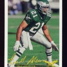 1994 FACT Fleer Shell Football #53 Eric Allen - Philadelphia Eagles