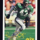 1994 FACT Fleer Shell Football #52 Ronnie Lott - New York Jets