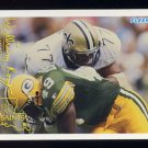 1994 FACT Fleer Shell Football #50 Willie Roaf - New Orleans Saints